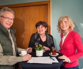 Teilnehmer mit Kerstin Guntermann