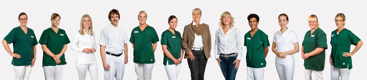 Team der Zahnarzt-Praxis Guntermann, Olpe