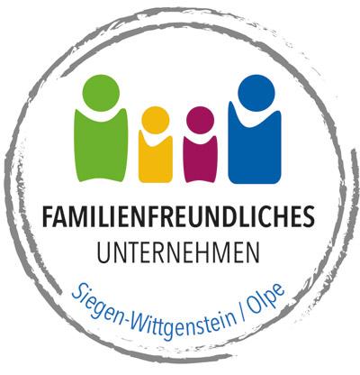 Logo Familienfreundliches Unternehmen - Siegen-Wittgenstein/Olpe