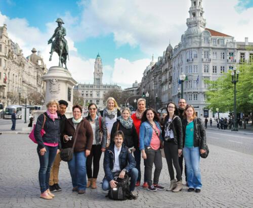Praxis Guntermann-Betriebsausflug Porto 2015